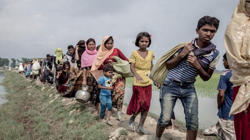 'NGOs discouraging' Rohingya return