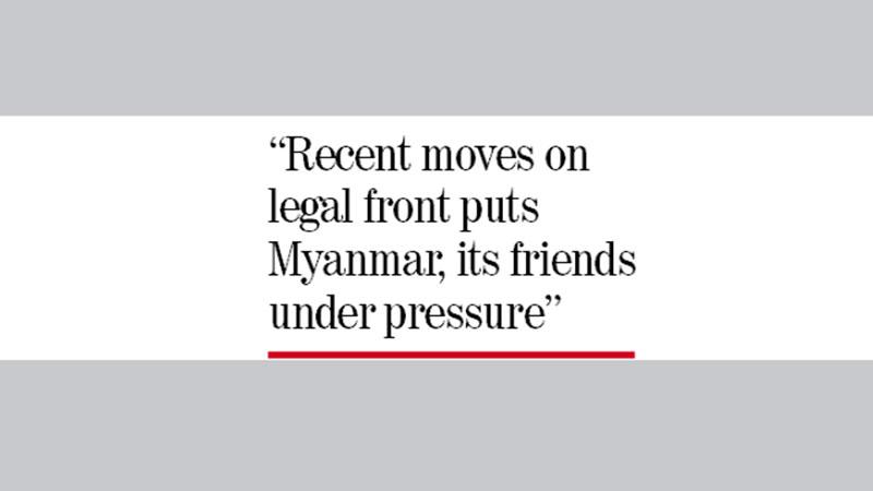 'Dhaka needs to utilise global pressure on Myanmar'
