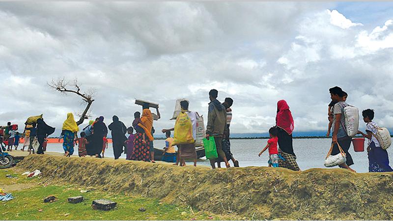 Rohingya plight peaks