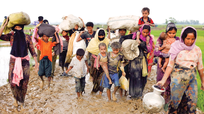 Rohingya arrivals since Aug 25 now 6.88 lakh