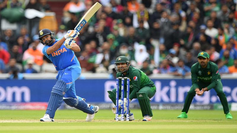 India make solid start against Pakistan