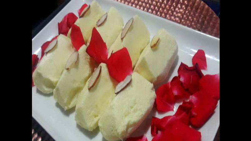 Rose Petal Malai Chaap Recipe