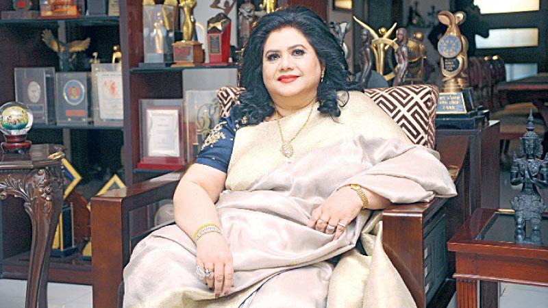 Runa Laila in self-quarantine at home