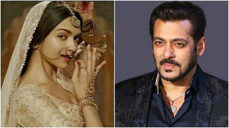 Salman Khan comes out in support of Bhansali's Padmavati