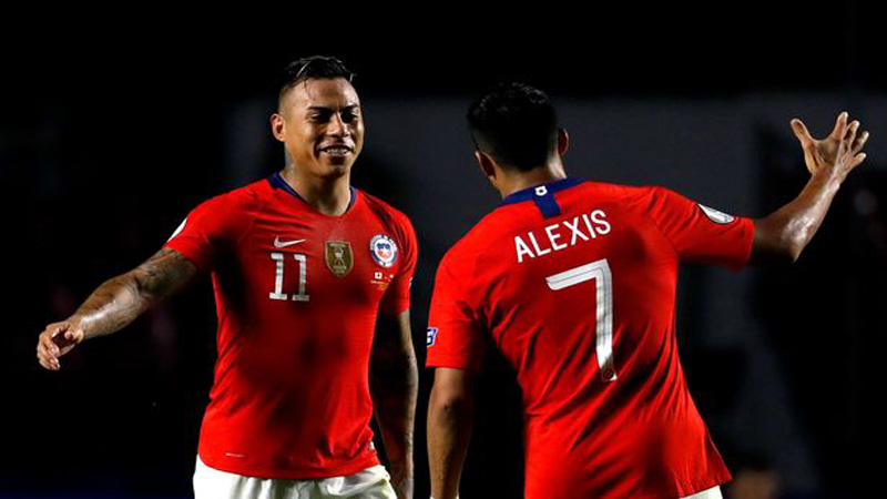 Sanchez stars as Chile rout Japan 4-0 in Copa America