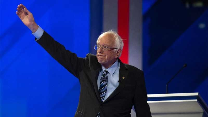 Moderates try to slow Sanders' pace