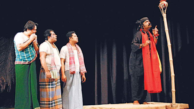 Comedy play 'Sea Morog' to be staged at Shilpakala today