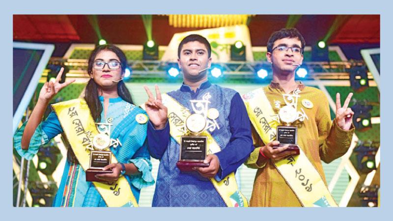 Shahed wins the title of 'Banglabid Season 3'