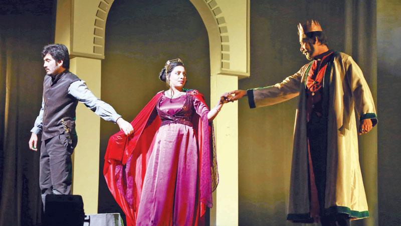 Shakespeare's 'Hamlet' at BSA today