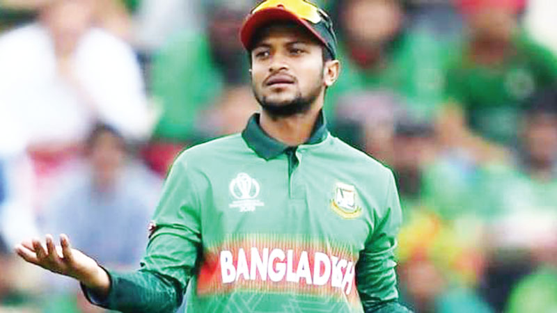 A good news for Shakib on New Year's day