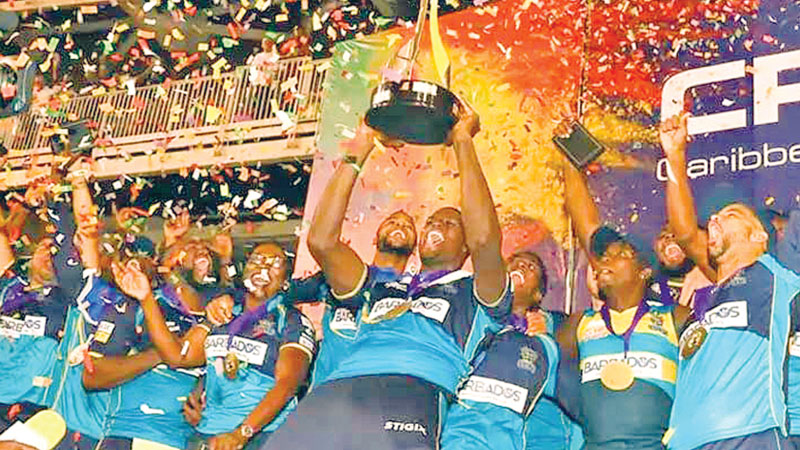 Shakib's Barbados lift CPL title