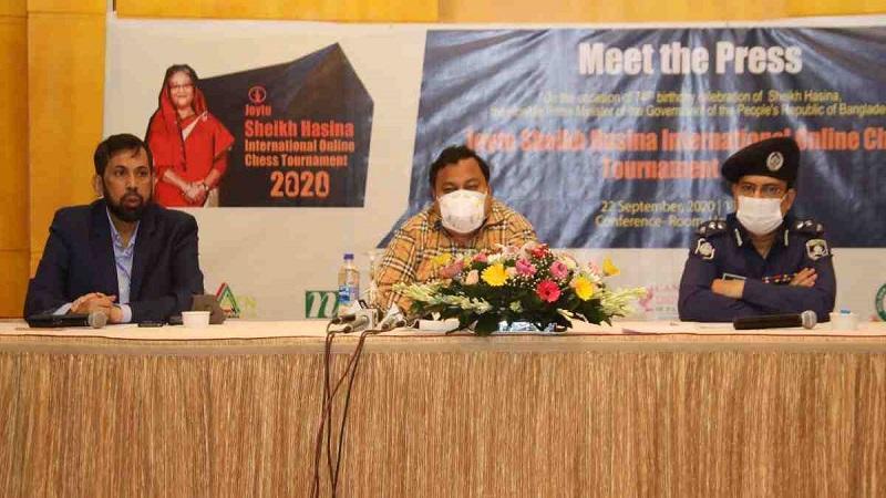 Sheikh Hasina International Online Chess begins today