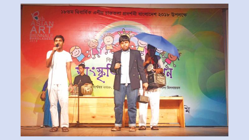 Shilpakala holds special cultural event for children