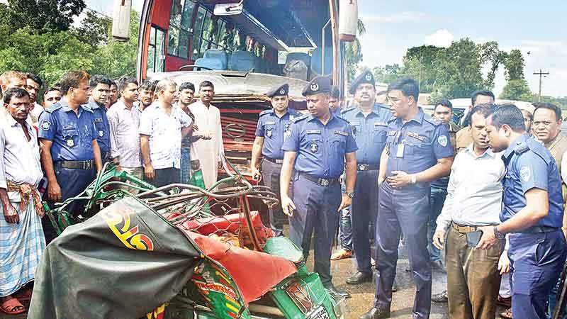 'Road crashes kill 253 during Eid holidays'