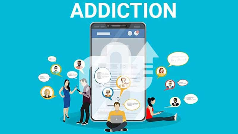 Social media addiction harming the youth