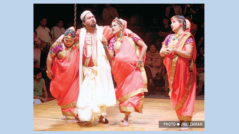Loko Natyadal (Siddeshwari) stages 'Sonai Madhab' today