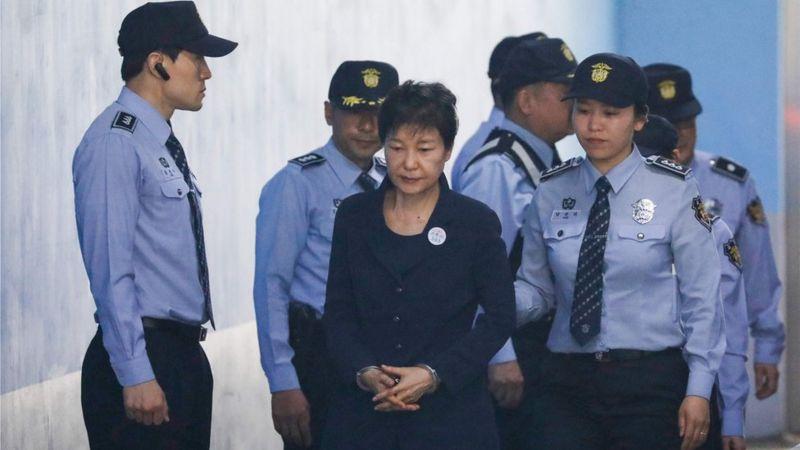 S Korea court upholds ex-leader's 20-year jail term