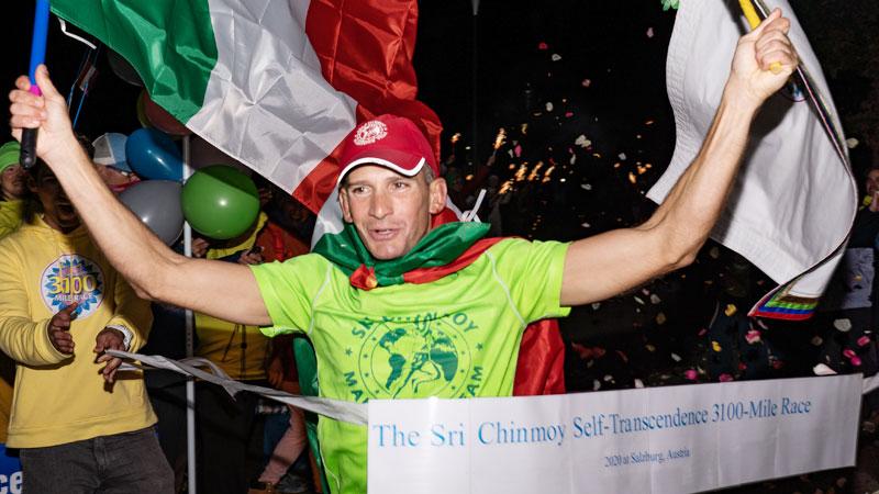 Italian runner wins world's longest race