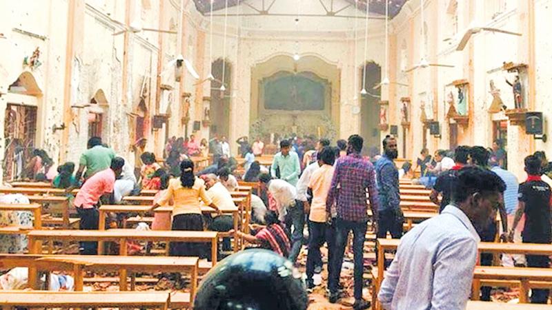 We condemn the  Sri Lanka massacre