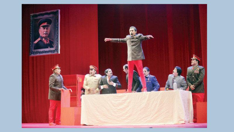 'Stalin' again on Shilpakala stage