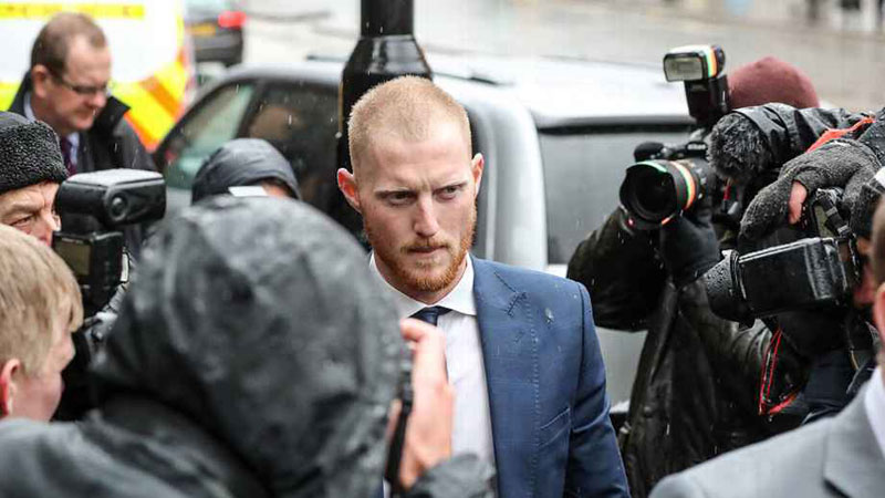 Stokes heads to New Zealand after not-guilty plea