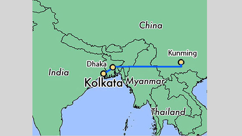 China plans Kolkata to Kunming bullet train via Dhaka