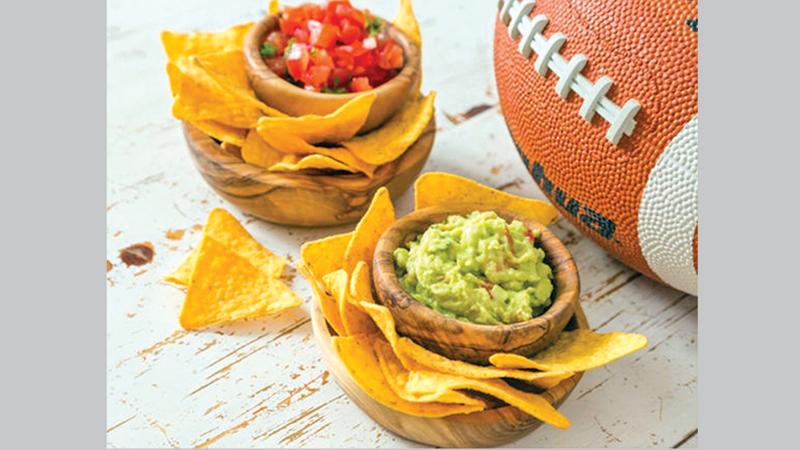 Super bowl snacks don't put health on sidelines
