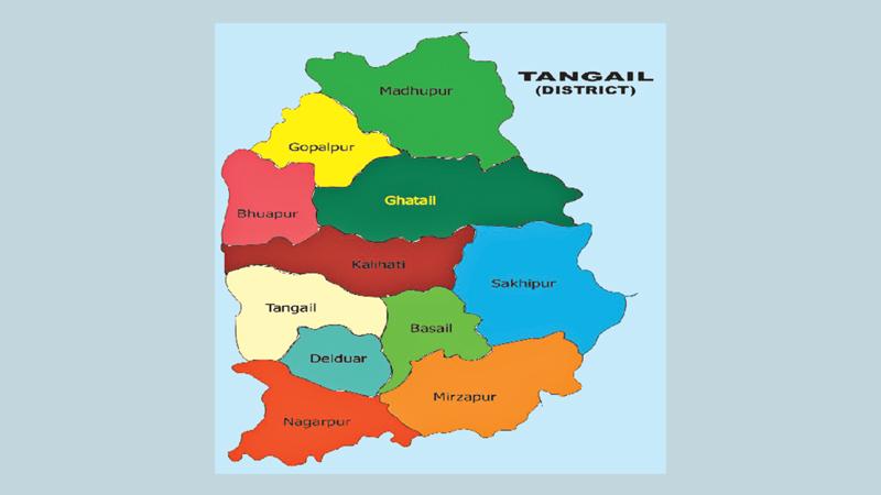 Tangail District Theindependentbdcom - Tangail map