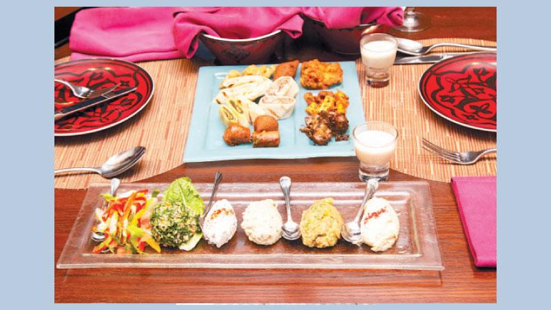 'Taste of Jordan' at Le Méridien Dhaka