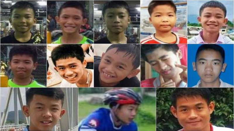 Thai boys lost an average of 2kg during weeks in cave