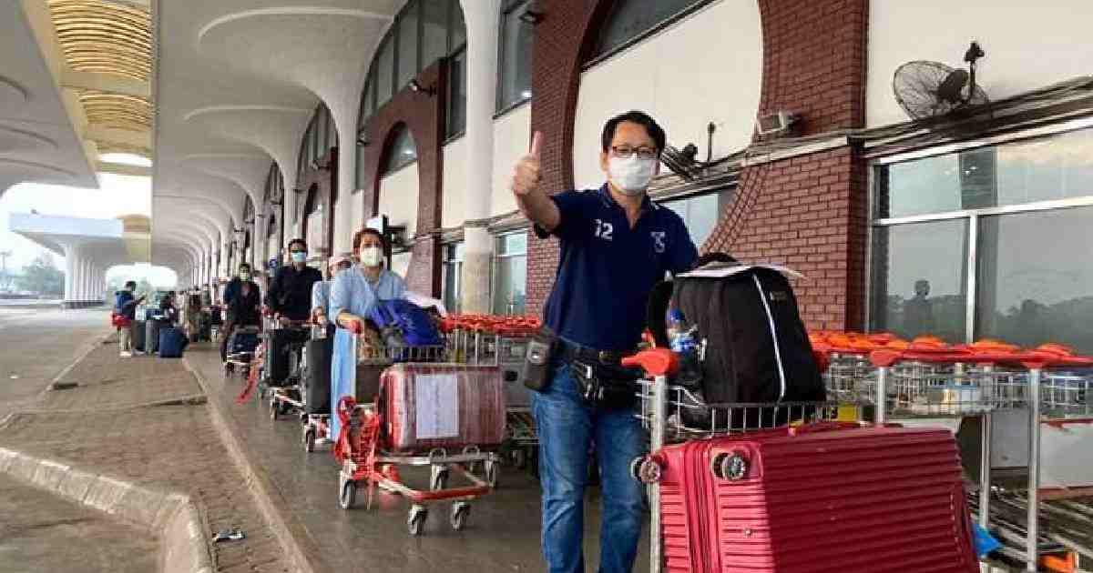 154 more Thai citizens leave Dhaka