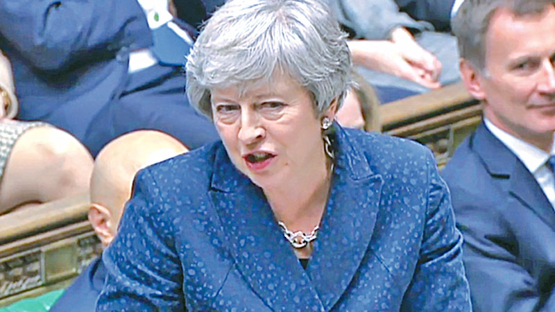 Delaying Brexit won't solve anything: May