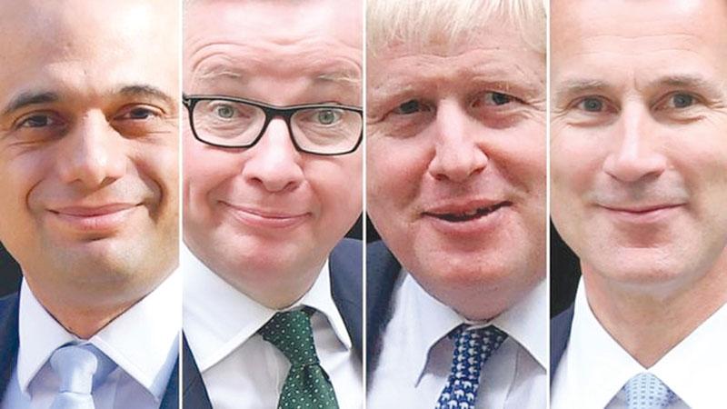 MPs choosing final 2 candidates