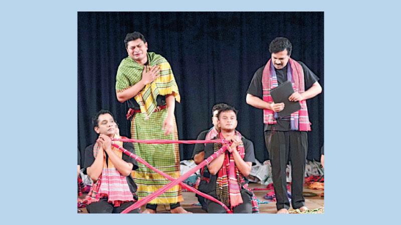 'Tringsha Shatabdee'  on BSA stage today