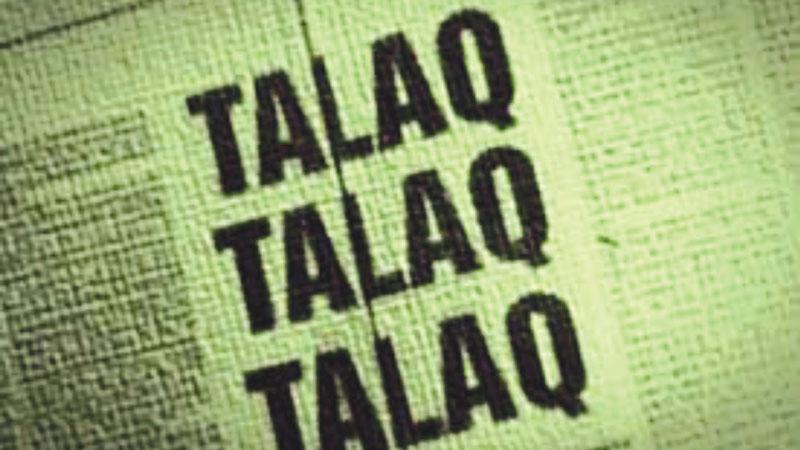 Triple Talaq bill controversy