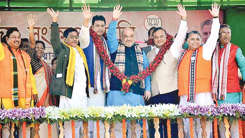 Triumphant BJP