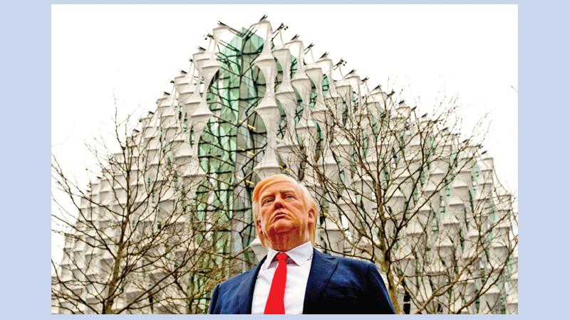 UK govt blames protests as Trump cancels London trip