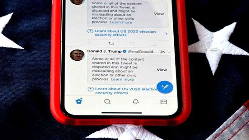 An ex-president Trump fair game for social media rules