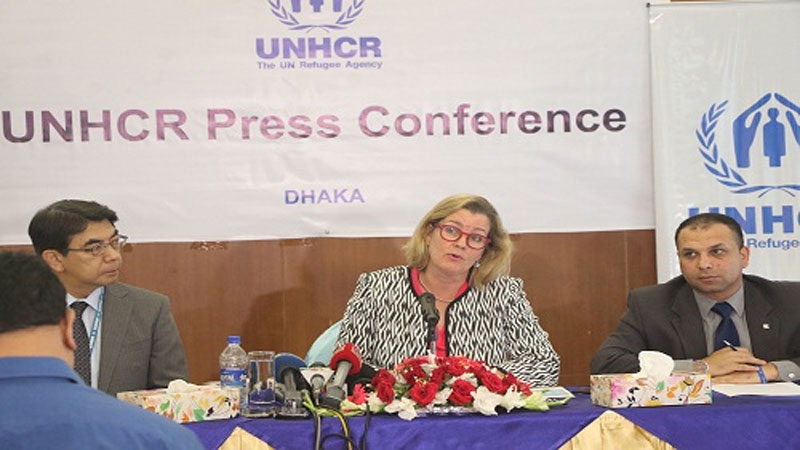 UNHCR to help advance Rohingya repatriation process