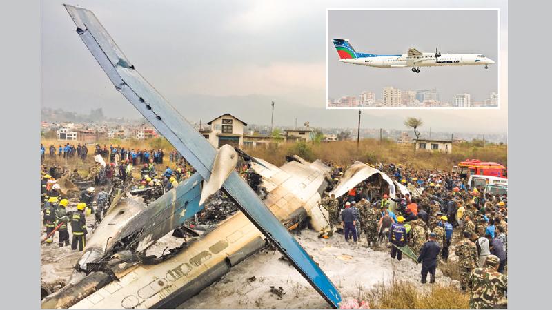 50 killed as US-Bangla plane crashes