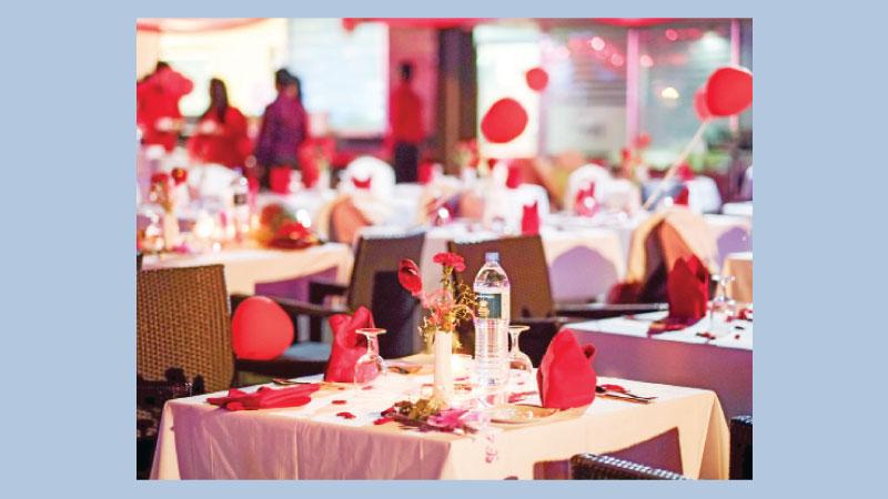 Valentine's Day celebration at Dhaka Regency