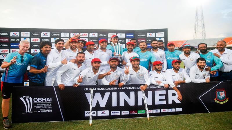 Rashid bowls AFG to historic win