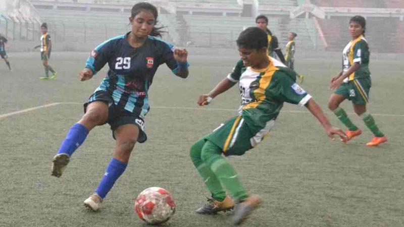 Women's Football: Nasrin Academy beat Galactico Sylhet 3-0