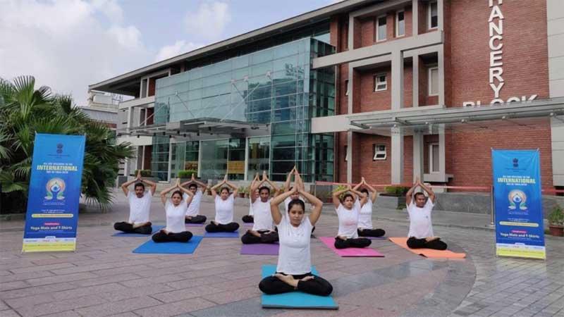 Int'l Yoga Day celebrations Friday