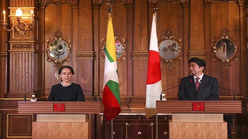Japan urges Myanmar to conduct credible Rohingya probe