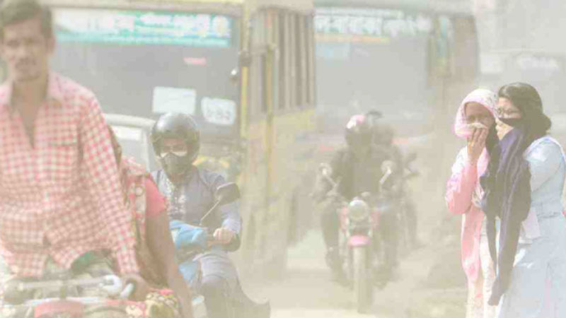Dhaka's air quality still 'unhealthy'