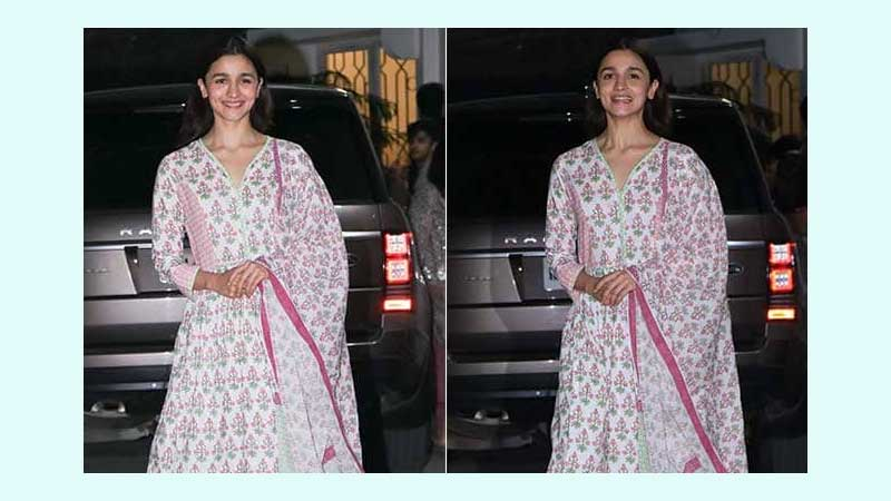 Salwar suits to add to  work wardrobe like Alia Bhatt