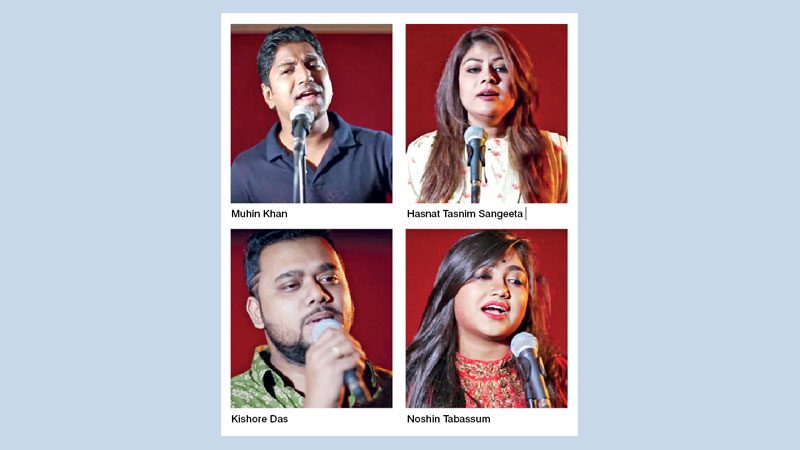 Four young artistes' awareness song on coronavirus