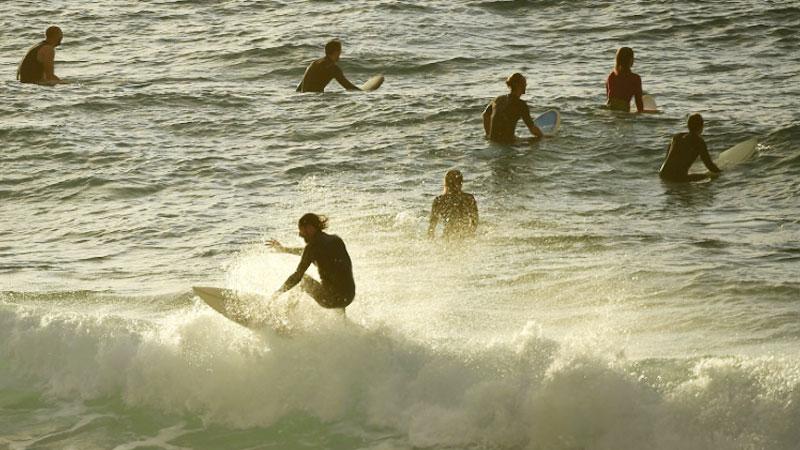 Surf's up: Sydney reopens its famous Bondi Beach