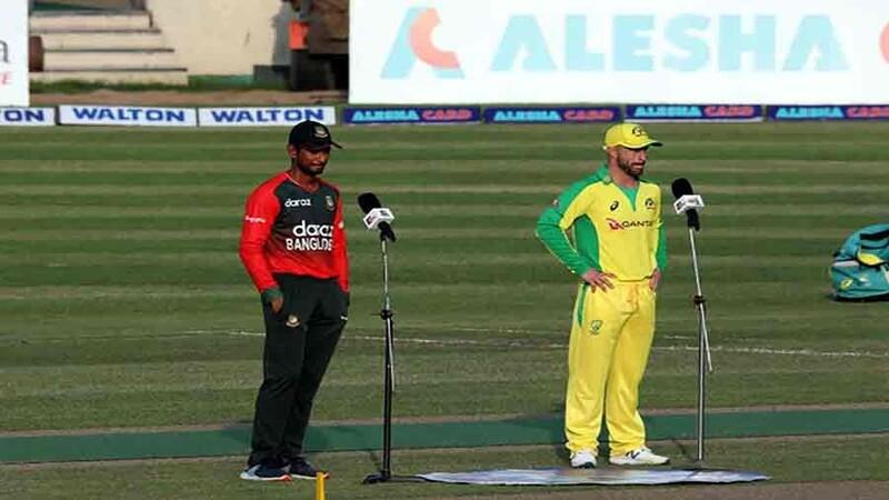 Bangladesh opt to bat first in 4th T20I vs Australia